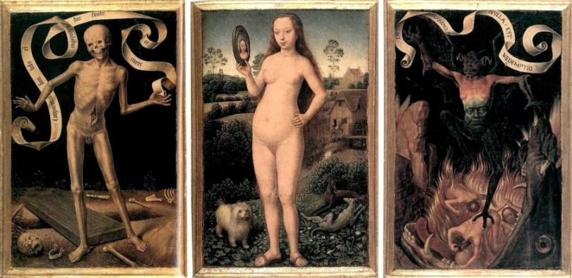 Memling Triptych Painting